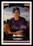 2006 Topps #22  Zach Day  Front Thumbnail
