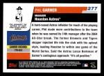 2006 Topps #277  Phil Garner  Back Thumbnail