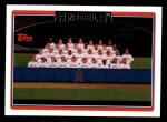 2006 Topps #280   Los Angeles Angels Team Front Thumbnail