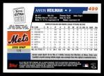2006 Topps #499  Aaron Heilman  Back Thumbnail
