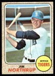 1968 Topps #78 A Jim Northrup  Front Thumbnail