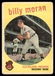 1959 Topps #196  Billy Moran  Front Thumbnail