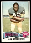1975 Topps #150  John Brockington  Front Thumbnail