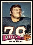 1975 Topps #198  Dave Foley  Front Thumbnail