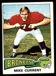 1975 Topps #77  Mike Current  Front Thumbnail