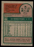 1975 Topps #579  Skip Pitlock  Back Thumbnail