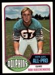 1976 Topps #390  Bob Kuechenberg  Front Thumbnail
