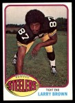1976 Topps #381  Larry Brown  Front Thumbnail