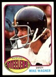 1976 Topps #501  Mike Wagner  Front Thumbnail