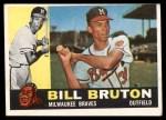 1960 Topps #37  Bill Bruton  Front Thumbnail