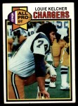 1979 Topps #525   -  Louie Kelcher All-Pro Front Thumbnail