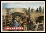 1956 Topps Davy Crockett #50   Davy Arrives  Front Thumbnail