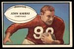1953 Bowman #51  John Karras  Front Thumbnail