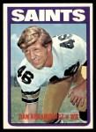 1972 Topps #213  Dan Abramowicz  Front Thumbnail