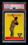 1958 Topps #11 YT Jim Rivera  Front Thumbnail