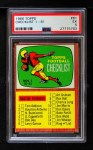 1966 Topps #61   Checklist #1 Front Thumbnail