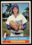 1976 Topps #174  Charlie Hough  Front Thumbnail