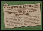 1976 Topps Traded #259 T Darrel Chaney  Back Thumbnail