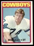 1972 Topps #145  Bob Lilly  Front Thumbnail