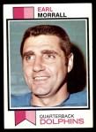 1973 Topps #414  Earl Morrall  Front Thumbnail