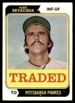 1974 Topps Traded #454 T  -  Kurt Bevacqua Traded Front Thumbnail