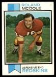 1973 Topps #524  Ron McDole  Front Thumbnail
