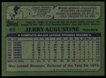 1982 Topps #46  Jerry Augustine  Back Thumbnail