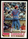 1982 Topps #210  Keith Hernandez  Front Thumbnail