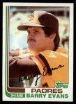 1982 Topps #541  Barry Evans  Front Thumbnail