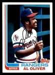 1982 Topps #590  Al Oliver  Front Thumbnail