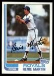 1982 Topps #594  Rennie Martin  Front Thumbnail