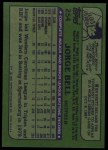 1982 Topps #254  George Bell  Back Thumbnail