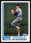 1982 Topps #264  Dan Quisenberry  Front Thumbnail