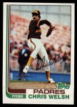 1982 Topps #376  Chris Welch  Front Thumbnail