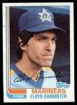 1982 Topps #468  Floyd Bannister  Front Thumbnail