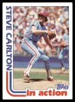 1982 Topps #481   -  Steve Carlton In Action Front Thumbnail