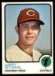 1973 Topps #533  Larry Stahl  Front Thumbnail