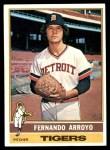 1976 Topps #614  Fernando Arroyo  Front Thumbnail