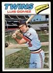 1977 Topps #13  Luis Gomez  Front Thumbnail