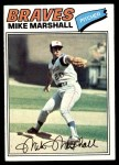 1977 Topps #263  Mike Marshall  Front Thumbnail