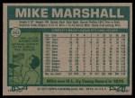1977 Topps #263  Mike Marshall  Back Thumbnail