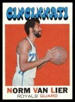 1971 Topps #19  Norm Van Lier  Front Thumbnail