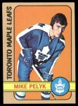 1972 Topps #107  Mike Pelyk  Front Thumbnail