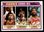 1981 Topps #44   Hawks Leaders Front Thumbnail