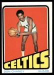 1972 Topps #131  Don Chaney   Front Thumbnail