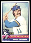 1976 Topps #427  Kurt Bevacqua  Front Thumbnail