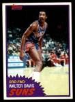 1981 Topps #33  Walter Davis  Front Thumbnail