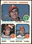 1973 Topps #66   -  Steve Carlton / Gaylord Perry / Wilbur Wood Pitching Leaders Front Thumbnail