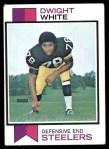 1973 Topps #140  Dwight White  Front Thumbnail