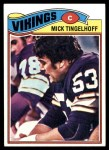 1977 Topps #291  Mick Tingelhoff  Front Thumbnail